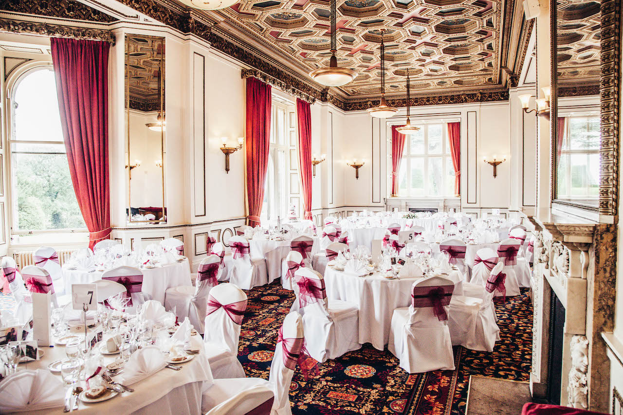 Image of salvin room dressed for a wedding